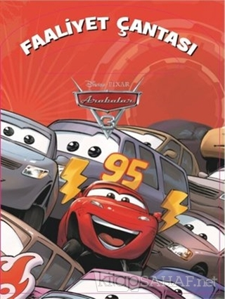Disney Pixar Arabalar 3 Faaliyet Çantası - Kolektif | Yeni ve İkinci E