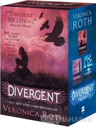 Divergent Trilogy Boxed Set (Books 3) - Veronica Roth- | Yeni ve İkinc
