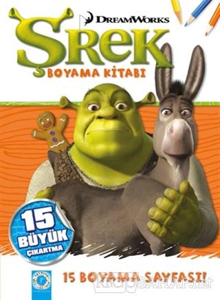 Dreamworks Shrek Boyama Kitabi Kolektif Yeni Ve Ikinci El Ucuz