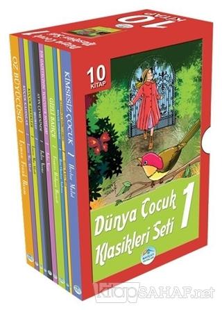 Dünya Çocuk Klasikleri 1 (10 Kitap Takım) - Kolektif   Yeni ve İkinci