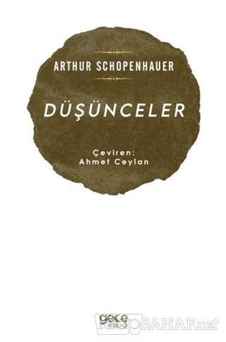 Düşünceler - Arthur Schopenhauer | Yeni ve İkinci El Ucuz Kitabın Adre