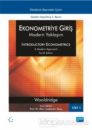 Ekonometriye Giriş (Cilt 1) - Jeffrey M. Wooldridge | Yeni ve İkinci E