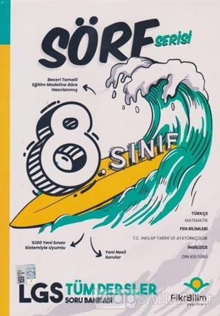 Fikribilim 8. Sınıf Tüm Dersler Soru Bankası - Sörf Serisi - Kolektif