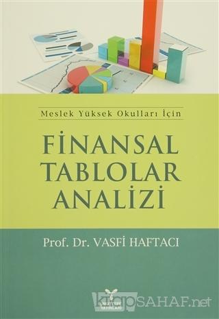 Finansal Tablolar Analizi - Vasfi Haftacı   Yeni ve İkinci El Ucuz Kit