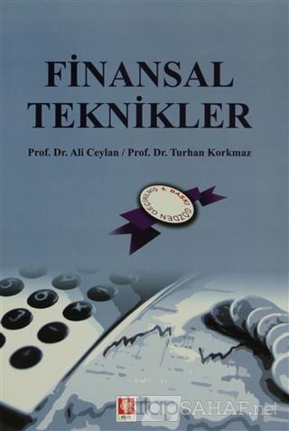 Finansal Teknikler - Ali Ceylan   Yeni ve İkinci El Ucuz Kitabın Adres