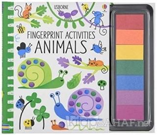 Fingerprint Activities - Animals - Fiona Watt | Yeni ve İkinci El Ucuz