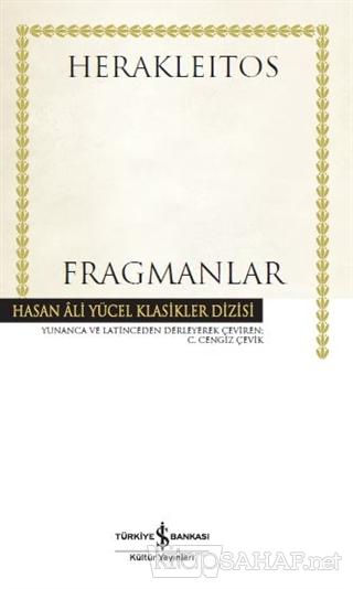 Fragmanlar (Ciltli) - Herakleitos   Yeni ve İkinci El Ucuz Kitabın Adr