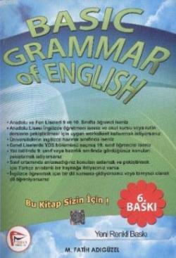 Basic Grammar Of English with answer key 2'li set - M. Fatih Adıgüzel