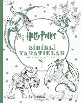 Harry Potter Sihirli Yaratıklar Boyama Kitabı - Kolektif | Yeni ve İki