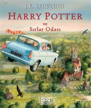Harry Potter ve Sırlar Odası - 2 (Resimli Özel Baskı) (Ciltli) - J. K.