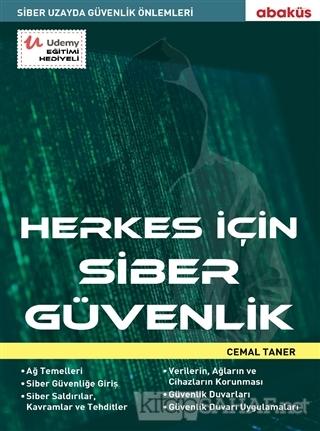 Herkes İçin Siber Güvenlik - Cemal Taner   Yeni ve İkinci El Ucuz Kita