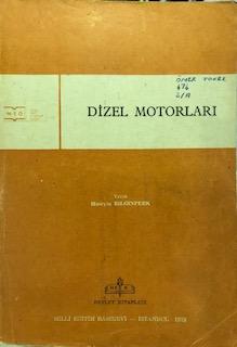 DİZEL MOTORLARI - KOMİSYON | Yeni ve İkinci El Ucuz Kitabın Adresi