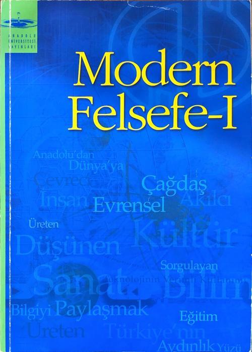 aöf modern felsefe 1 - Sara Çelik | Yeni ve İkinci El Ucuz Kitabın Adr
