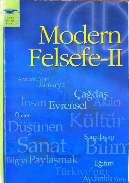 aöf modern felsefe 2 - Sara Çelik | Yeni ve İkinci El Ucuz Kitabın Adr