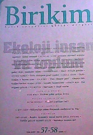 BİRİKİM 57-58 OCAK-ŞUBAT 1994 - | Yeni ve İkinci El Ucuz Kitabın Adres