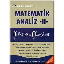 Matematik Analiz II - Salih Çelik   Yeni ve İkinci El Ucuz Kitabın Adr