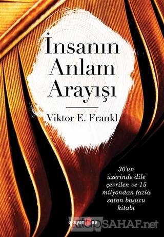 İnsanın Anlam Arayışı - Viktor Frankl | Yeni ve İkinci El Ucuz Kitabın