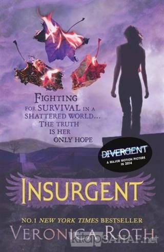 Insurgent (Divergent Trilogy, Book 2) - Veronica Roth-   Yeni ve İkinc