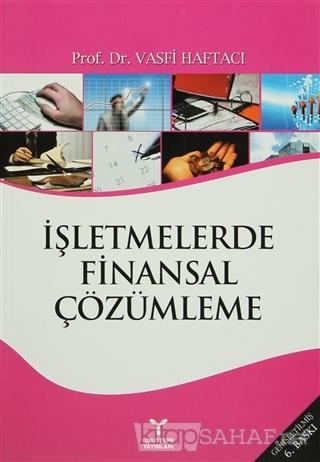 İşletmelerde Finansal Çözümleme - Vasfi Haftacı | Yeni ve İkinci El Uc