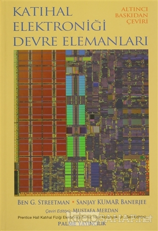 Katıhal Elektroniği Devre Elemanları (Ciltli) - Ben G. Streetman | Yen