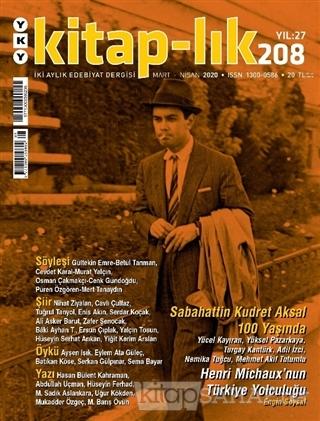 Kitap-lık Dergisi Sayı: 208 Mart - Nisan 2020 - Kolektif | Yeni ve İki