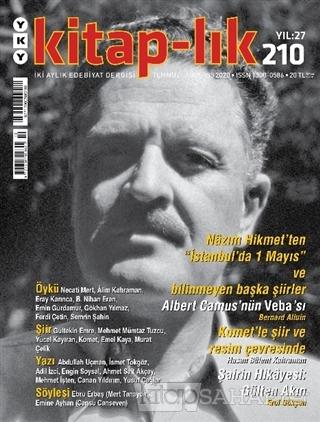 Kitap-lık Dergisi Sayı: 210 Temmuz - Ağustos 2020 - Kolektif | Yeni ve