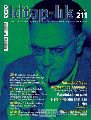 Kitap-lık Dergisi Sayı: 211 Eylül-Ekim 2020 - Kolektif | Yeni ve İkinc