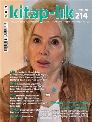 Kitap-lık Dergisi Sayı: 214 Mart-Nisan 2021 - Kolektif   Yeni ve İkinc