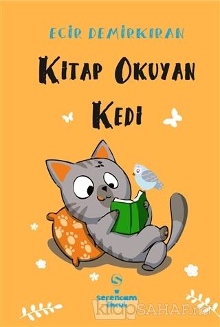 Kitap Okuyan Kedi - Ecir Demirkıran | Yeni ve İkinci El Ucuz Kitabın A