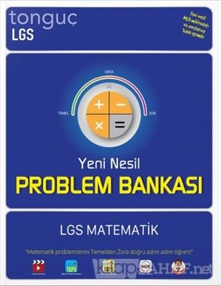 LGS Yeni Nesil Matematik Problem Bankası - Kolektif | Yeni ve İkinci E