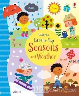 Lift-the-Flap Seasons and Weather - Holly Bathie | Yeni ve İkinci El U