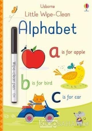 Little Wipe-Clean Alphabet - Felicity Brooks | Yeni ve İkinci El Ucuz