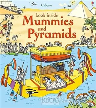 Look Inside Mummies and Pyramids (Ciltli) - Kolektif | Yeni ve İkinci