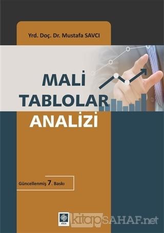 Mali Tablolar Analizi - Mustafa Savcı-   Yeni ve İkinci El Ucuz Kitabı