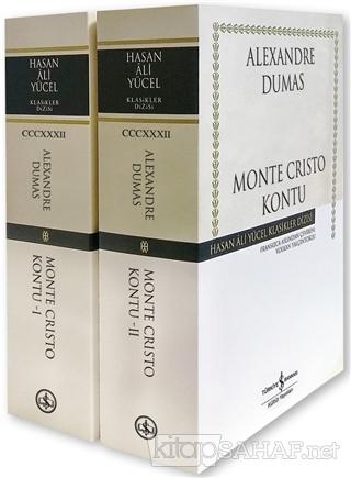 Monte Cristo Kontu - 2 Kitap Takım - Alexandre Dumas   Yeni ve İkinci