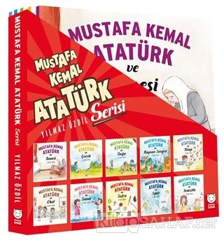 Mustafa Kemal Atatürk Serisi (10 Kitap Takım) - Yılmaz Özdil   Yeni ve