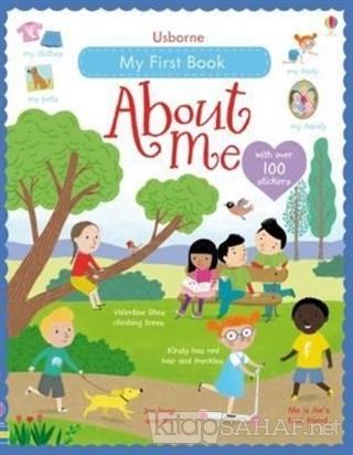 My First Book About Me - Felicity Brooks | Yeni ve İkinci El Ucuz Kita
