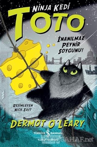 Ninja Kedi Toto - İnanılmaz Peynir Soygunu! - Dermot O'Leary | Yeni ve
