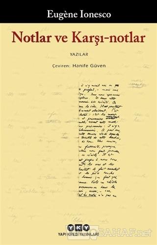 Notlar ve Karşı-notlar - Eugene Ionesco | Yeni ve İkinci El Ucuz Kitab