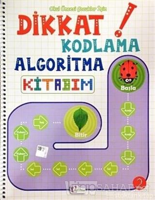 Okul Öncesi Çocuklar İçin Dikkat Kodlama Algoritma Kitabım 2 - Kolekti
