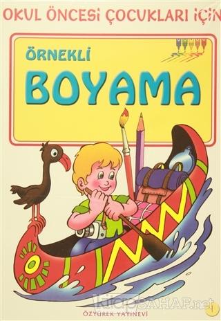 Okul Oncesi Cocuklar Icin Renkli Boyama 30 Kitap Takim Kolektif