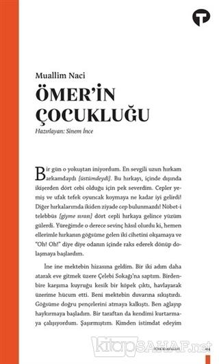 Ömer'in Çocukluğu - Muallim Naci | Yeni ve İkinci El Ucuz Kitabın Adre
