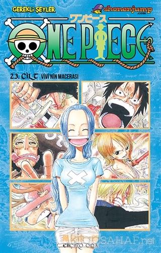 One Piece 23. Cilt - Eiiçiro Oda | Yeni ve İkinci El Ucuz Kitabın Adre