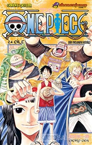 One Piece 24. Cilt - Eiiçiro Oda | Yeni ve İkinci El Ucuz Kitabın Adre