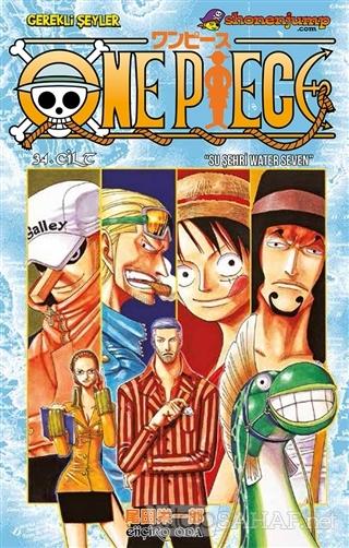 One Piece 34. Cilt - Eiiçiro Oda | Yeni ve İkinci El Ucuz Kitabın Adre