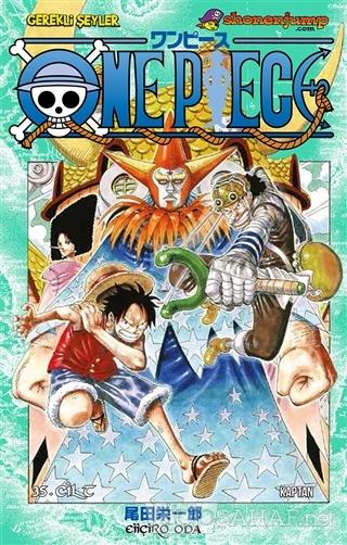 One Piece 35. Cilt - Eiiçiro Oda | Yeni ve İkinci El Ucuz Kitabın Adre
