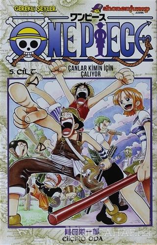 One Piece 5. Cilt - Eiiçiro Oda | Yeni ve İkinci El Ucuz Kitabın Adres