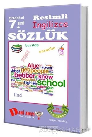 Ortaokul 7. Sınıf Resimli İngilizce Sözlük - Büşra Yılmaz-   Yeni ve İ