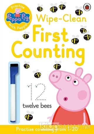 Peppa Pig - Wipe-Clean First Counting - Kolektif | Yeni ve İkinci El U