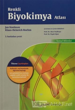 Renkli Biyokimya Atlası - Jan Koolman | Yeni ve İkinci El Ucuz Kitabın
